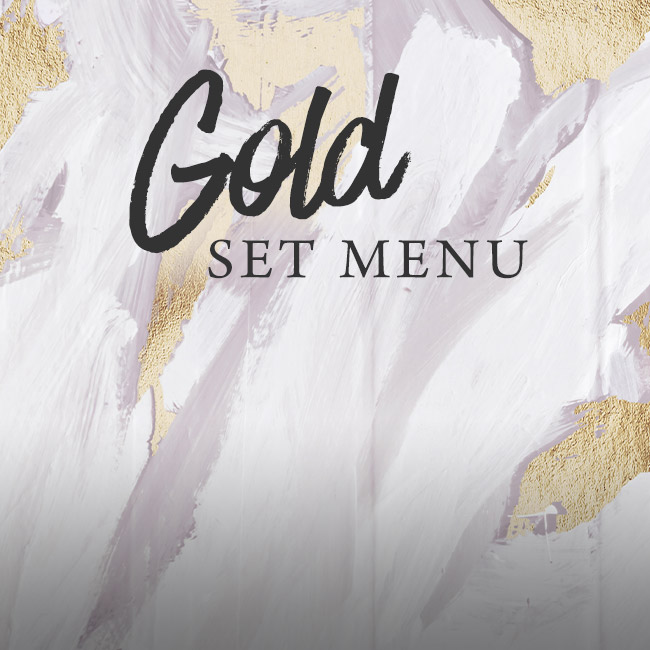 Gold set menu at The Sheep Heid Inn