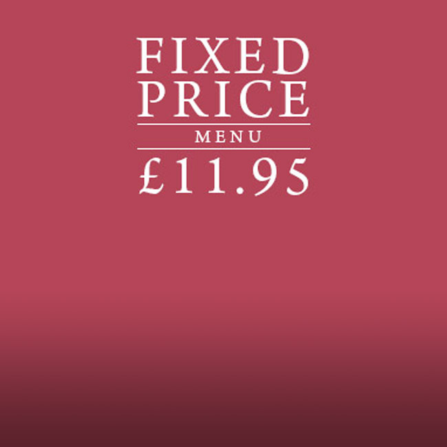 Fixed Price Menu at The Sheep Heid Inn